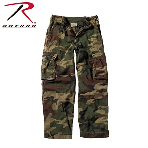 Rothco Kids Vintage Paratrooper Fatigues, Camo, Medium (Boys Camo Pants compare prices)