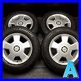 【中古スタッドレスタイヤ】【送料無料】4本セット ミシュラン X-ICE XI2 215/65R16  /   ALPHA 16x7.0 35 100/114.3-5穴  エルグランドに! 中古タイヤ W16160910906