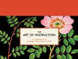 Chronicle Books The Art of Instruction: 100 Postcards of Vintage Educational Charts