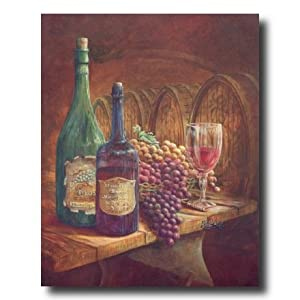 Grapes and red wine kitchen tuscan for Home decorations amazon