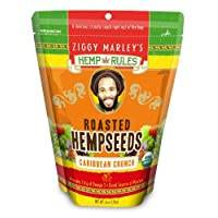 Hemp Rules Roasted Hempseeds, Organic - Caribbean Crunch, 6-oz
