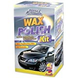 250ML CAR WAX POLISH KIT WITH MICROFIBRE CLOTH & SPONGE