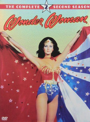 DVD : Wonder Woman: The Complete Second Season (, Standard Screen, 4 Disc)