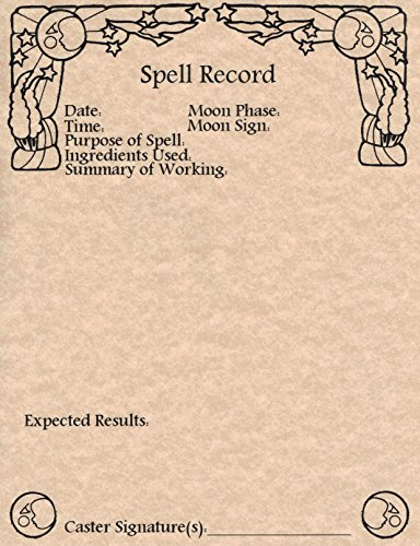 set-of-25-spell-record-worksheets-for-book-of-shadows-wicca-witchcraft-spell-working-pages-copper-by
