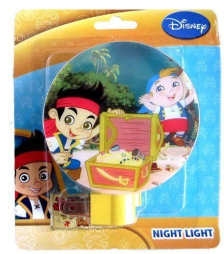 NEW Disney's Jake and the Never Land Pirates Night Light - 1