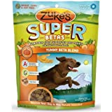 Zukes Supers Nutritious Soft Superfood Dog Treats, Yummy Beta Blend, 6-Ounce