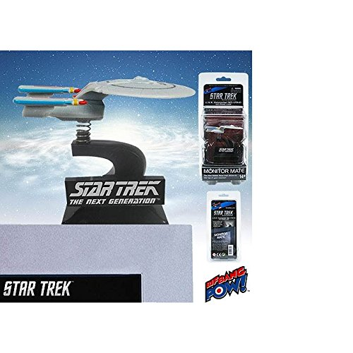 Star Trek: The Next Generation U.S.S. Enterprise NCC-1701-D Monitor Mate Bobble Ship
