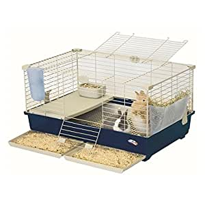 Marchioro Tommy Deluxe Quality Plastic Small Animal Cage with Pull-Out Drawers