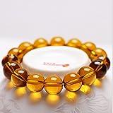 Xin Bai Xaing Women's Citrine Stretch Bracelet