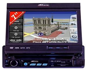 takara gpv 1207 autoradio dvd gps int gr ecran motoris 7 16 9 touches tactiles lecteur sd. Black Bedroom Furniture Sets. Home Design Ideas