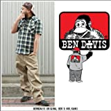 34:BEN DAVIS BENDAVIS ベンデイビス original cut 695 khk ワークパンツ