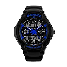 buy Skmei S Shock Analog And Digital Sports Watch In Different Colors (Blue)