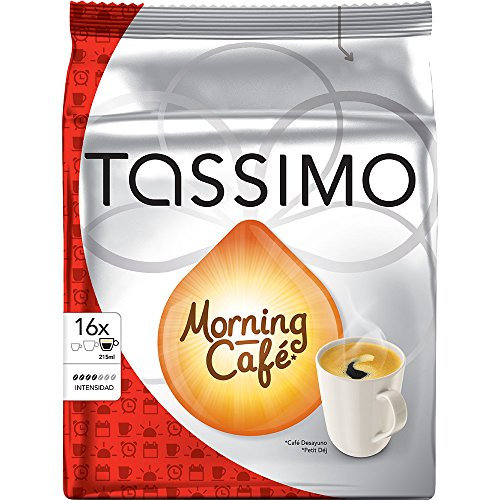 Order Factory Sealed Pack Tassimo T-Disc Pods Jacobs Morning Cafe Coffee - 16 Servings from Tassimo