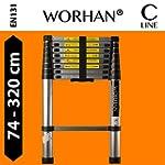 WORHAN� Echelle 3.2m T�lescopique PRO...