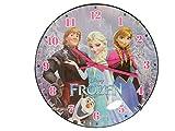 タイプが選べる アナと雪の女王 FROZEN 高級感 のある ジュエリー ドーム グラス ウォール クロック アナ雪 壁 掛け 時計 アナ雪 ウォール クロック / アナ / エルサ / オラフ (全員集合)