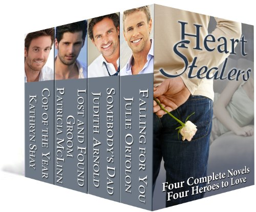 Let best-selling authors Kathryn Shay, Patricia McLinn, Judith Arnold and Julie Ortolon take you on the life-changing journeys of four men who find their soul mates in four very strong women. 4 complete novels in 1 ebook – just 99 Cents!