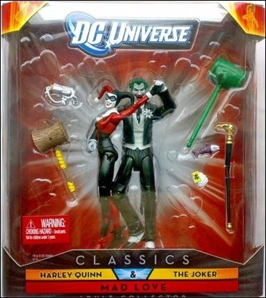 : DC Universe Classics Exclusive Mad Love Figure 2Pack Harley Quinn The Joker