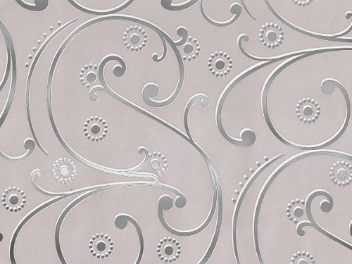 wedding swirls gift wrap paper brand new 16ft roll