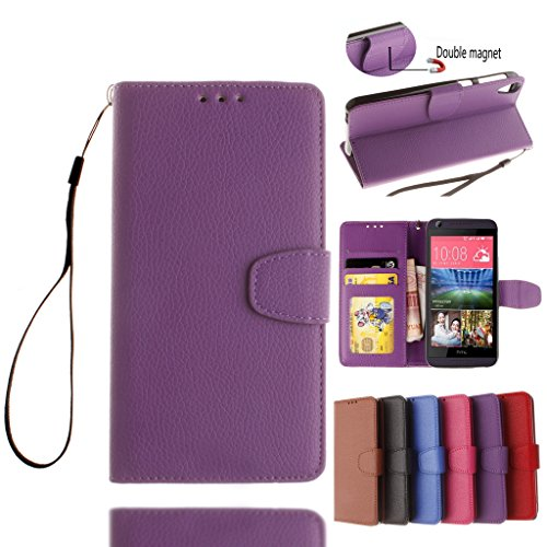 htc-desire-626-case-with-free-tempered-glass-screen-protectorw-pigcase-solid-color-pu-leather-case-w