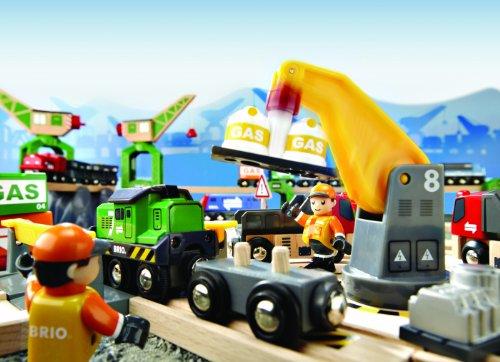 Brio 33097 jeu de construction circuit grues et chargements jouets po - Jeux de grue de construction gratuit ...