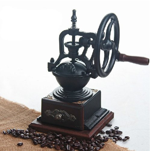 Taiwan imported be8701-1 hand-cranked grinder grinding machine coffee grinder Vintage