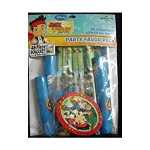"Disney Jr ""Jake and The Neverland Pirates"" Party Favor Pack : 48 Piece Value!"