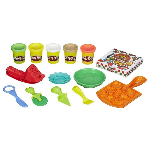unbranded Play Doh Pizza Party Set