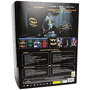 Batman Collection 1989 - 1997 (cofanetto da collezione edizione limitata) (4BRD+4DVD+statuetta) [(c