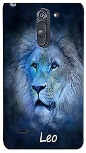 PrintVisa Zodiac Leo Case Cover for LG G3 Stylus (3D-LGG3STYLUS-D8179)