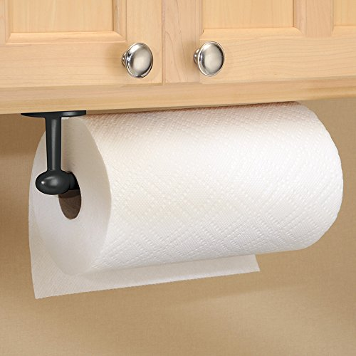 new wall mount or under cabinet paper towel holder matte