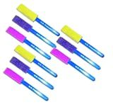 9 Assorted Thin Sponge Foam Brushes
