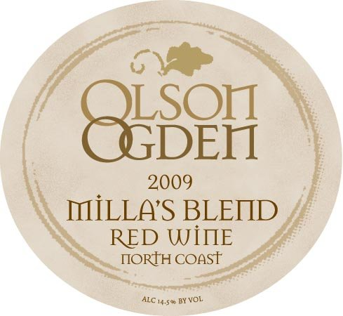 2009 Olson Ogden Wines Millas Blend Red Wine