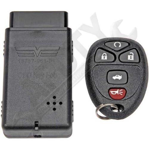 Pontiac 2001 2002 2003 2004 2005 2 Key Fob Keyless Entry Remote Shell Case /& Pad fits Buick Chevy Oldsmobile Cadillac