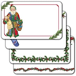 Christmas Time - Assorted Adhesive Labels
