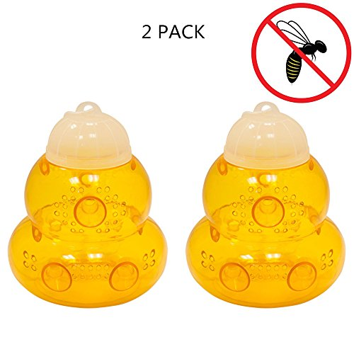 seicosy-hanging-plastic-bee-wasp-trap-for-wasps-hornets-yellow-jackets-2-packs-yellow