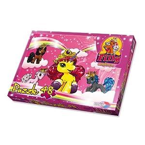 Schauen Sie sich Kundenbewertung für Noris-Spiele 606037368 - Filly Unicorn - Im Himmel, 48 Teile Puzzle