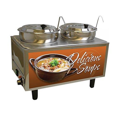 Benchmark Soup Station 2 Ladles/Lids