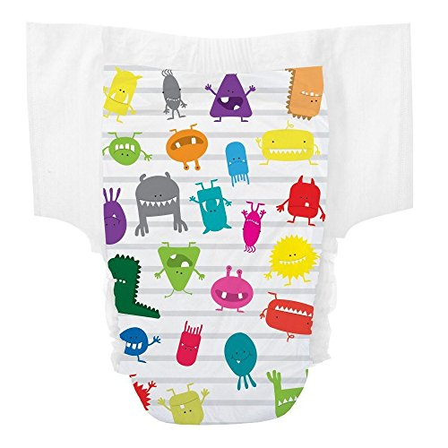 The Honest Company Training Pants (Monsters, Size 2T/3T) - 1