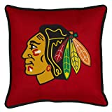 Chicago Blackhawks SIDELINES Jersey Material Toss Pillow at Amazon.com