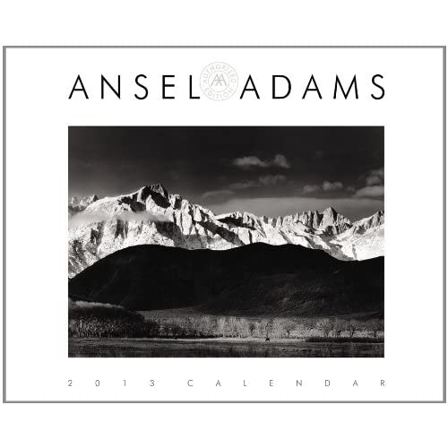 ansel adams photography calendar and planner 2015