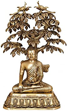 Gathbandhan Large Size Nirvana Buddha Under the Tree of Life + Cash Envelope (Pack Of 10)