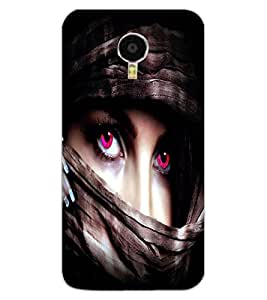 ColourCraft Beautiful Eyes Design Back Case Cover for MEIZU BLUE CHARM NOTE 3