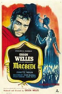 Macbeth Movie Poster (27 x 40 Inches - 69cm x 102cm) (1948) -(Orson Welles)(Jeanette Nolan)(Dan O'Herlihy)(Roddy McDowall)(Edgar Barrier)(Alan Napier)