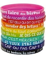 Caroline Lisfranc - Set 10 bracelets Kid