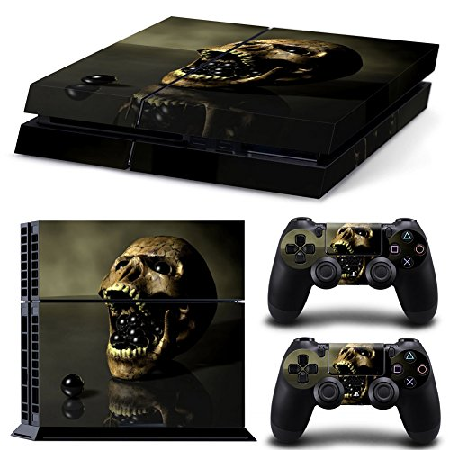 Vinyl Decal Protective Skin Cover Sticker for Sony PS4 Console And 2 Dualshock Controllers #7 (Ps4 Controller Protective Skin compare prices)