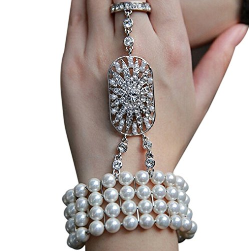 Zking-Art-Deco-The-Great-Gatsby-Inspired-Pearl-Flower-Wedding-Bridal-Bracelet-Bangle-Ring-Set