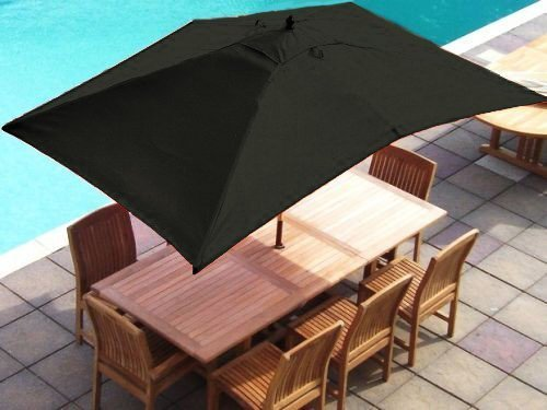 Cheap Price Olive Green Replacement Rectangular Parasol Cover 3x2