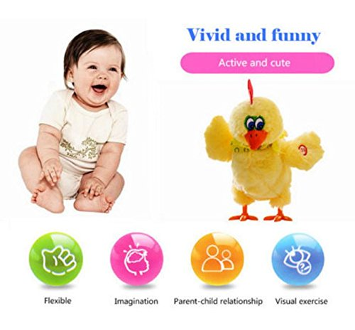 laying eggs chicken toy electric hen musical dancing. Black Bedroom Furniture Sets. Home Design Ideas