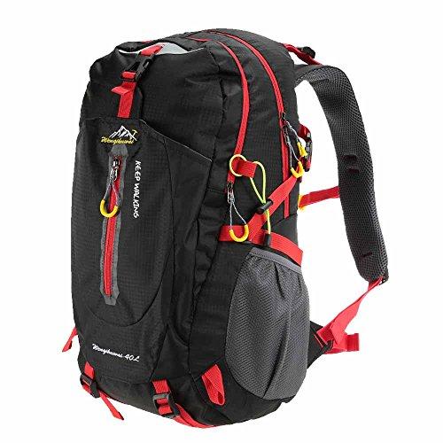 Docooler 40L Traspirante Spalla Zaino Viaggio Trekking Alpinismo Zaino Unisex Zainetto All'Aperto