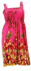 NY Deal Womens Smoked Tube Dress Cover Up
